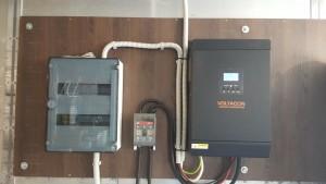 Off Grid Solar Inverter in Greece