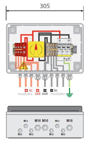 Nice Solar Combiner Box Wiring Diagram Adornment Electrical - Solar combiner box wiring diagram