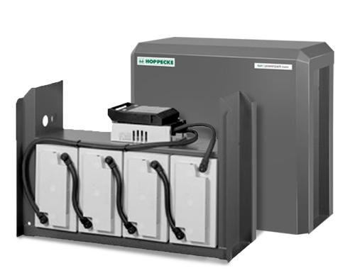 5.5kWh Battery 24V Hoppecke AGM 6V Blocs