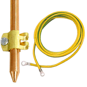Earthing rod (stick) with 16mm cable