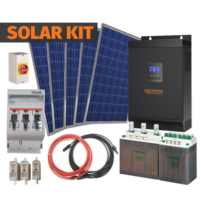 Complete Off-Grid Solar Kit