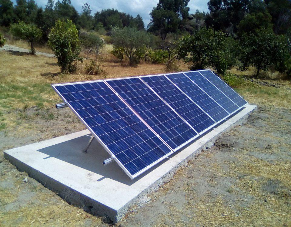 Solar Panel 250Watt in Off-Grid Photovoltaic