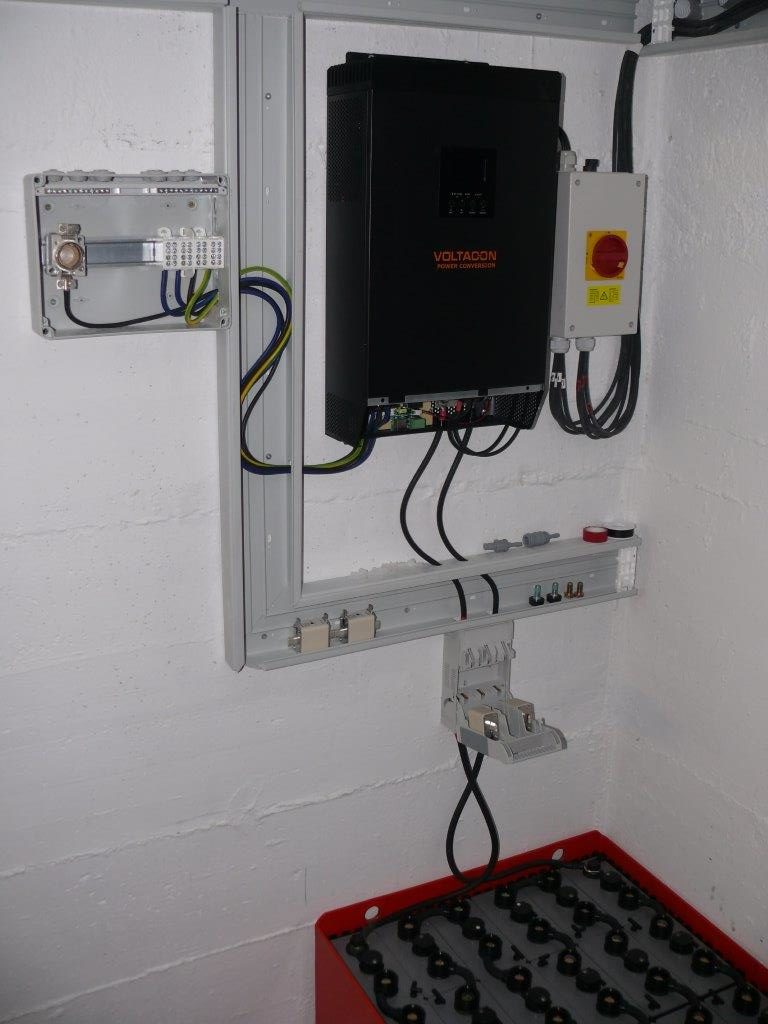 5kw off grid inverter 48V mppt installed in Germany