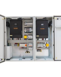 Silent Power SP1048-D, PLUG 'N' PLAY PHOTOVOLTAIC CONTROL CABINET Off Grid Inverter Charger Kit 10000Watt