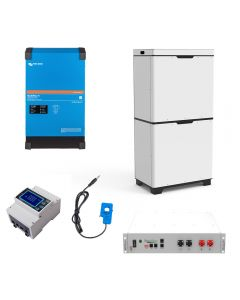 Victron Multiplus-II GX for AC Charging with Lithium Ion Battery Energy Storage