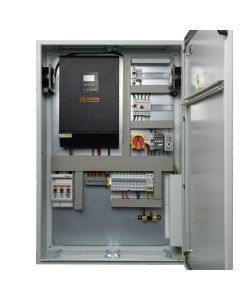 Silent Power SP5048-C-P, PLUG 'N' PLAY PHOTOVOLTAIC CONTROL CABINET Off Grid Inverter Charger Kit 5000Watt