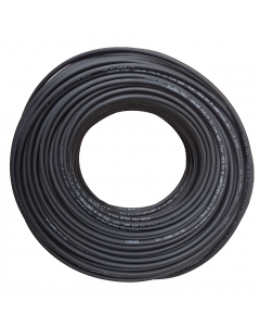 Solar Cable Black 4mm 1000Vdc rated.