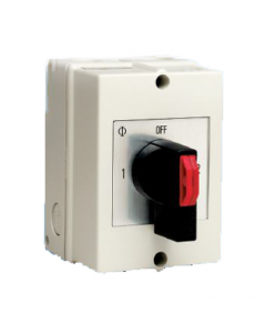 Changeover Switch with Centre Off - 2 Pole