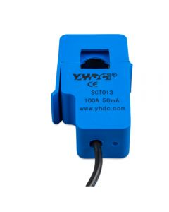 100A to 50mA current sensor 5meter cable.  It measures the energy consumption and feeds the signal back to Multiplus-II