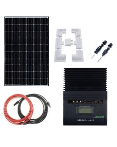 Complete Kit Battery Charger MPPT 12V with 320W Solar Panel