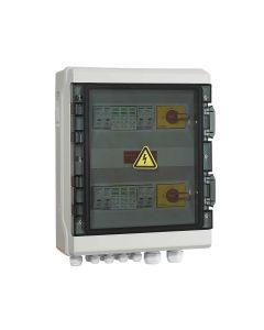 PV Combiner DC Switch Box 4-Way Input 2-Way Output
