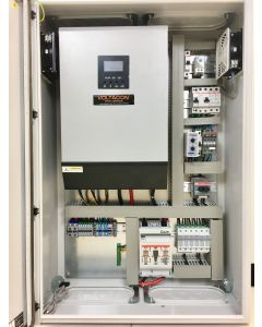 Silent Power SP5048-D-P, PLUG 'N' PLAY PHOTOVOLTAIC CONTROL CABINET Off Grid Inverter Charger Kit 5000Watt