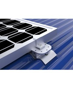 Solar PV Rail less Mounting Trapezoidal  & Corrugated Industrial Panel Roof
