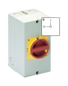 Safe control of ac power supply from single phase inverters