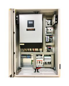 Silent Power SP5048MV, Off Grid Inverter Charger Kit 5000Watt, up to 450V PV Voltage. PLUG 'N' PLAY PHOTOVOLTAIC CONTROL CABINET