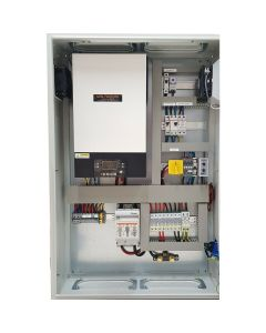 Silent Power 3024-S-P, PLUG 'N' PLAY PHOTOVOLTAIC CONTROL CABINET, Off Grid Inverter Charger Kit 3000Watt