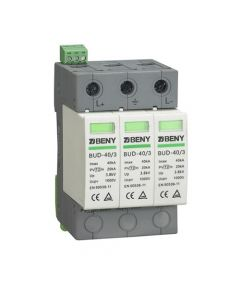 Surge protection on DC terminals of solar inverter