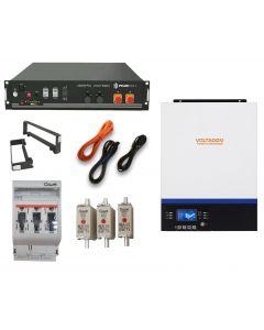 Pylontech US2000 Off-Grid Kit 5kW Conversol V3 Inverter Charger MPPT