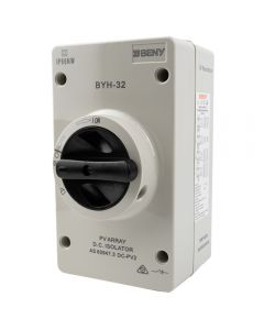Volta-Switch DC Isolator for Solar PV up to 1000V/32A