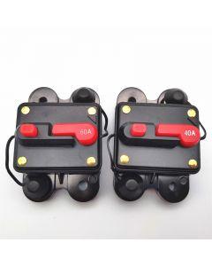 Inline waterproof inverter fuse 12V 24V