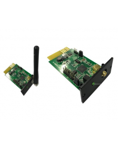 Wireless card for remote monitoring of off grid inverters