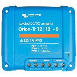 Victron Orion DC-DC Converter / Charger 12/12V Isolated & Non-isolated