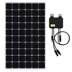 Smart Panel (Silver) - EGING 310W Solar Panel Monocrystalline