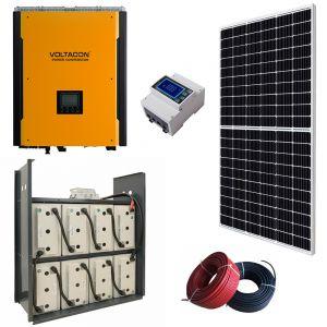 Voltasol Hybrid Energy Storage System 8kWh. Super S5 Inverter 5.5kW