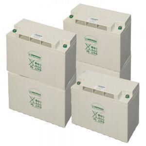 GEL Battery (AGM) Bank 8kWh 24V. 200Ah 8pcs 6V Cells