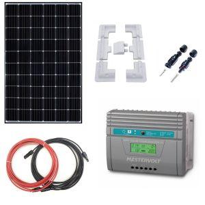Complete Kit Battery Charger MPPT 12V/24V with 320W Solar Panel