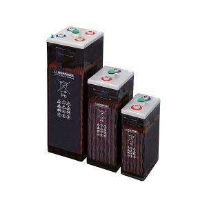 350Ah Battery Bank 48V OPzS Lead Acid. 24 cells in series 24V & 48V Arrangement.