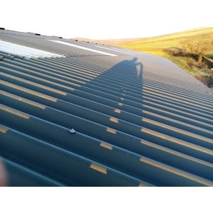 Solar Panel Mounting for Corrugated Cement Fibre Glass Roof
