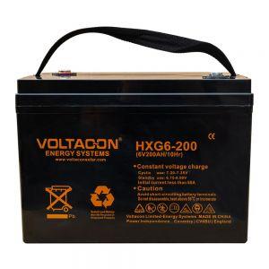 Voltacon GEL Lead Acid Solar Battery 6V / 200Ah