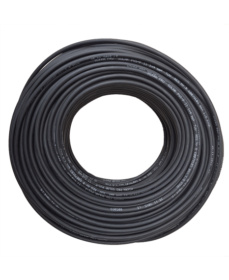 Solar Cable Black 6mm 1000Vdc rated.