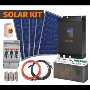 1000W | 12V | Complete Off-Grid Kit | 150Ah Battery | 250W PV Panels