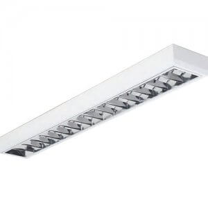 Radiant 180cm 2x32W T8 Surface fitting CAT 2 louvre