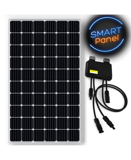 Smart Panel (Silver) - EGING 310W Solar Panel Monocrystalline