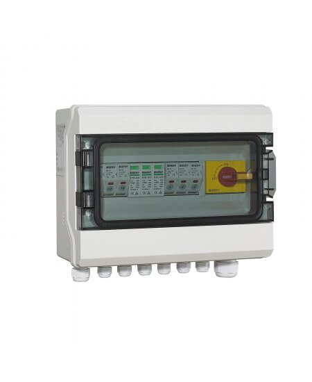PV Combiner DC Switch Box 3-Way Input 1-Way Output