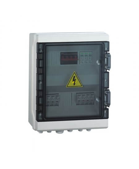 PV Combiner DC Switch Box 4-Way Input 1-Way Output
