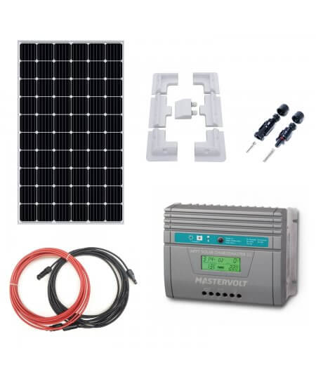 Complete Kit Battery Charger MPPT 12V/24V with 310W Solar Panel
