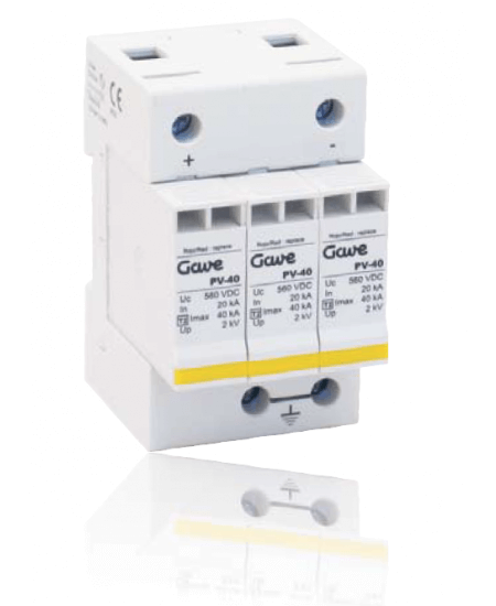 GAVE Electro PV Surge Protection Class II 550v