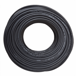 Hikra-Sol Solar cable 4mm² in black. Double Insulation. 50m drum