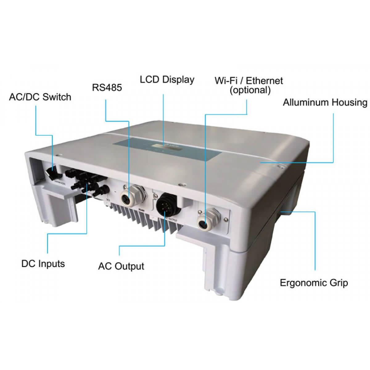 Delta Grid Tie 4kva Transformerless Inverter
