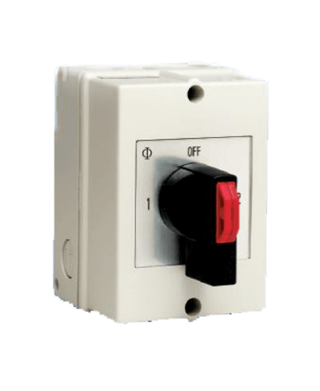 Changeover Switch with Centre Off 3-Pole