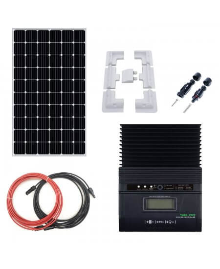 Complete Kit Battery Charger MPPT 12V with 310W Solar Panel