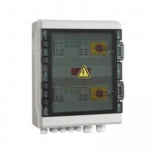 PV Combiner DC Switch Box 8-Way Input 2-Way Output