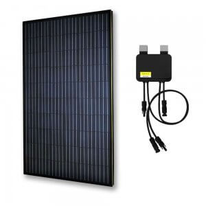 Smart Panel (All Black) - EGING 310W Solar Panel Monocrystalline