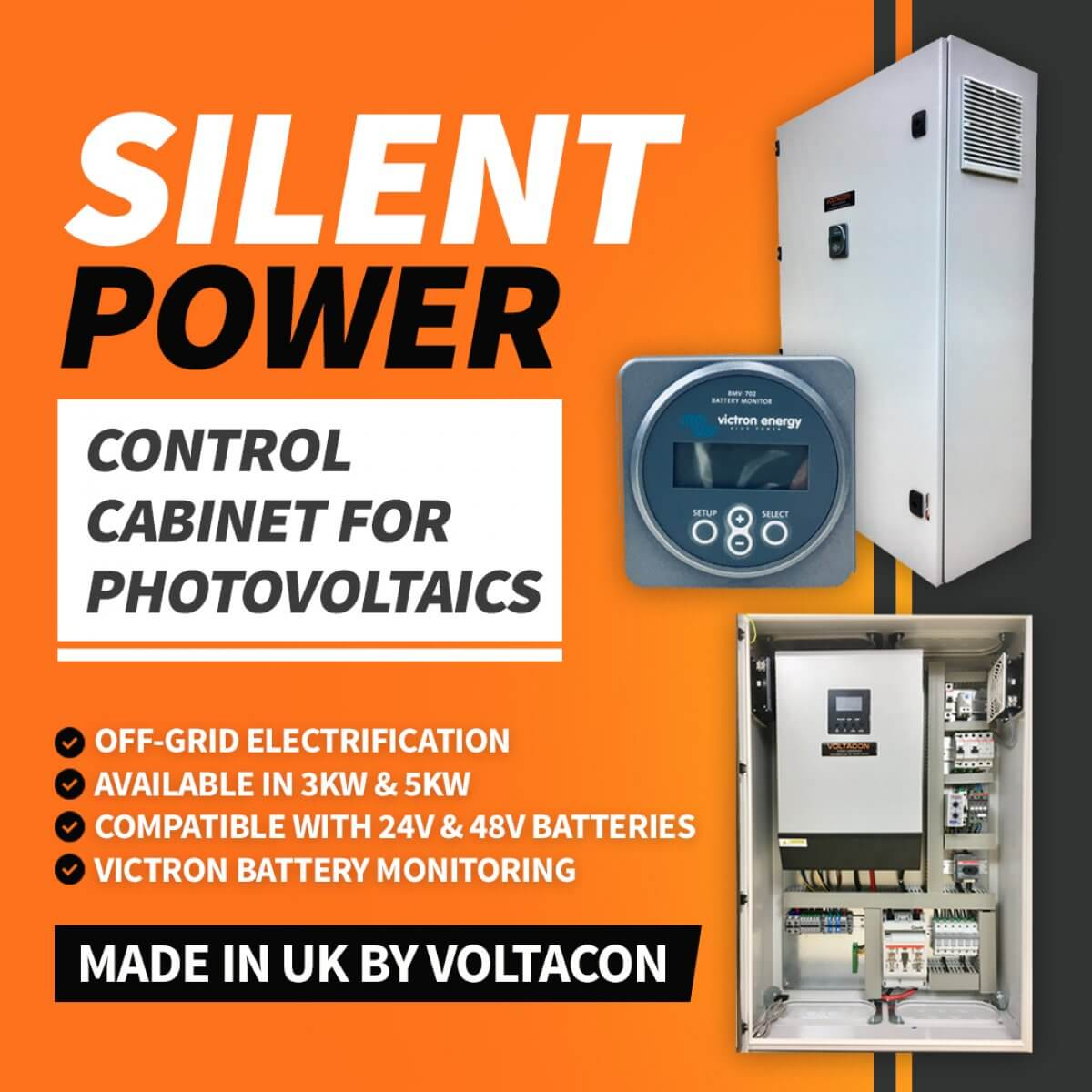 Silent Power 5000W SP5048 | Photovoltaic Off Grid Control