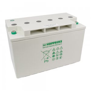 Hoppecke AGM Battery 105Ah 12V. Solar Deep Cycle