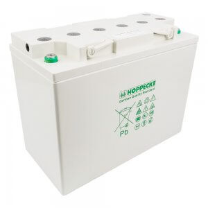 Hoppecke AGM Battery 135Ah 12V. Solar Deep Cycle